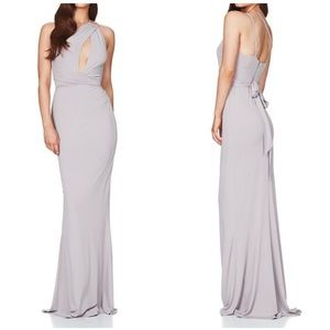 Nookie Grey Xena Twist Front Gown Small